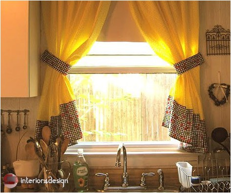 Elegant Kitchen Curtains 17