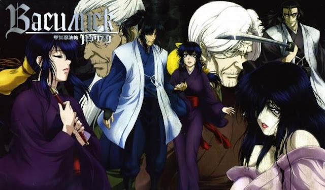 Basilisk - Anime Tentang Perang Terbaik dan Terkeren (Dari Jaman Kerajaan sampai Masa Depan)