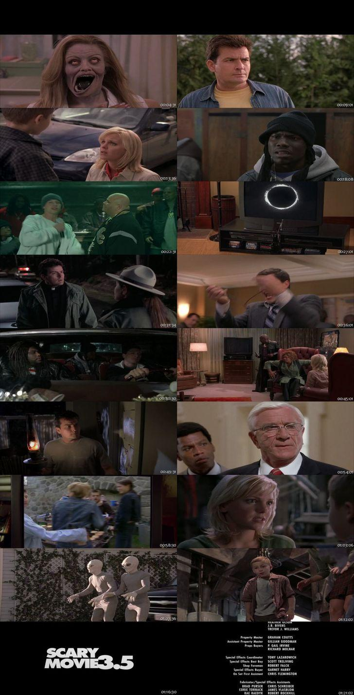 Screen Shot Of Scary Movie 3 2003 300MB Full Movie Hindi Dubbed Free Download 480P BRRip Small Size PC Movie
