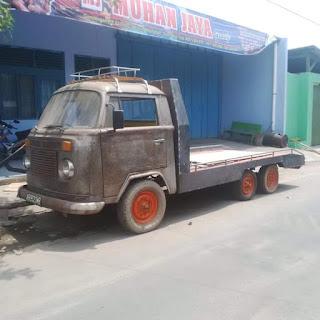 VW Kombi Dimodif Jadi Truk Towing..Gini Jadinya