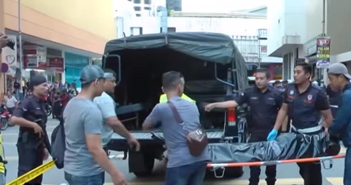 Lelaki serang polis