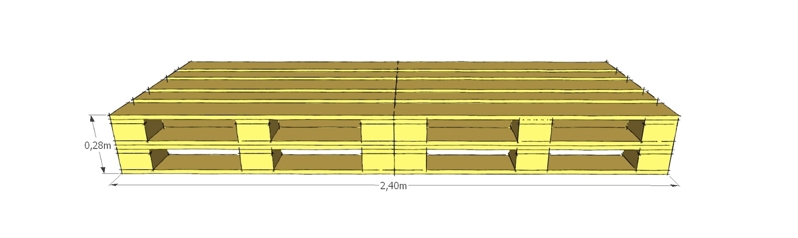 Favorito Progettare spazi verdi: Come costruire un divano con i pallet  NB77