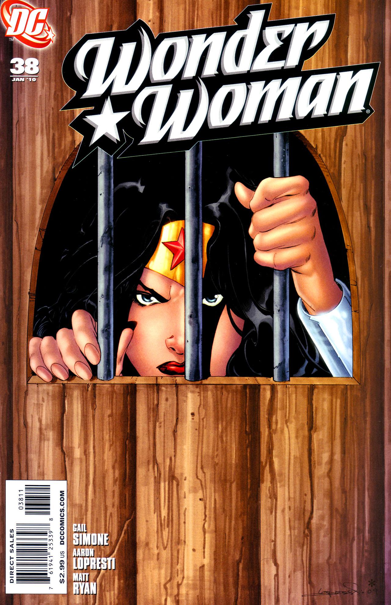 Read online Wonder Woman (2006) comic -  Issue #38 - 1