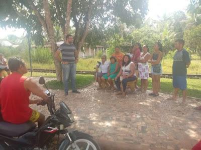 Alagoinhas: vereador João Henrique Paolilo se reúne com moradores de Narandiba para tratar sobre cobrança do IPTU