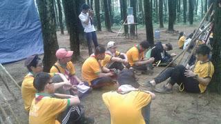 Solid Tidak Sebatas Kata Melainkan Sebuah Rasa: Refleksi Character camp di Gunung Pancar