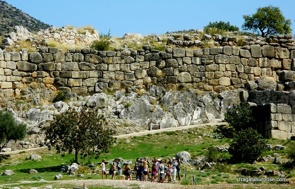Muralhas de Micenas, Peloponeso, Grécia