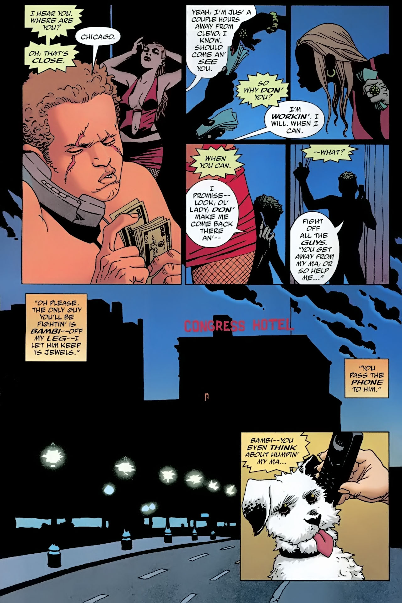 Read online 100 Bullets comic -  Issue #90 - 5
