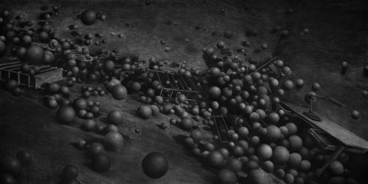 15-Spheres-Levi-van-Veluw-Black-and-White-Monochromatic-Charcoal-Drawings-www-designstack-co