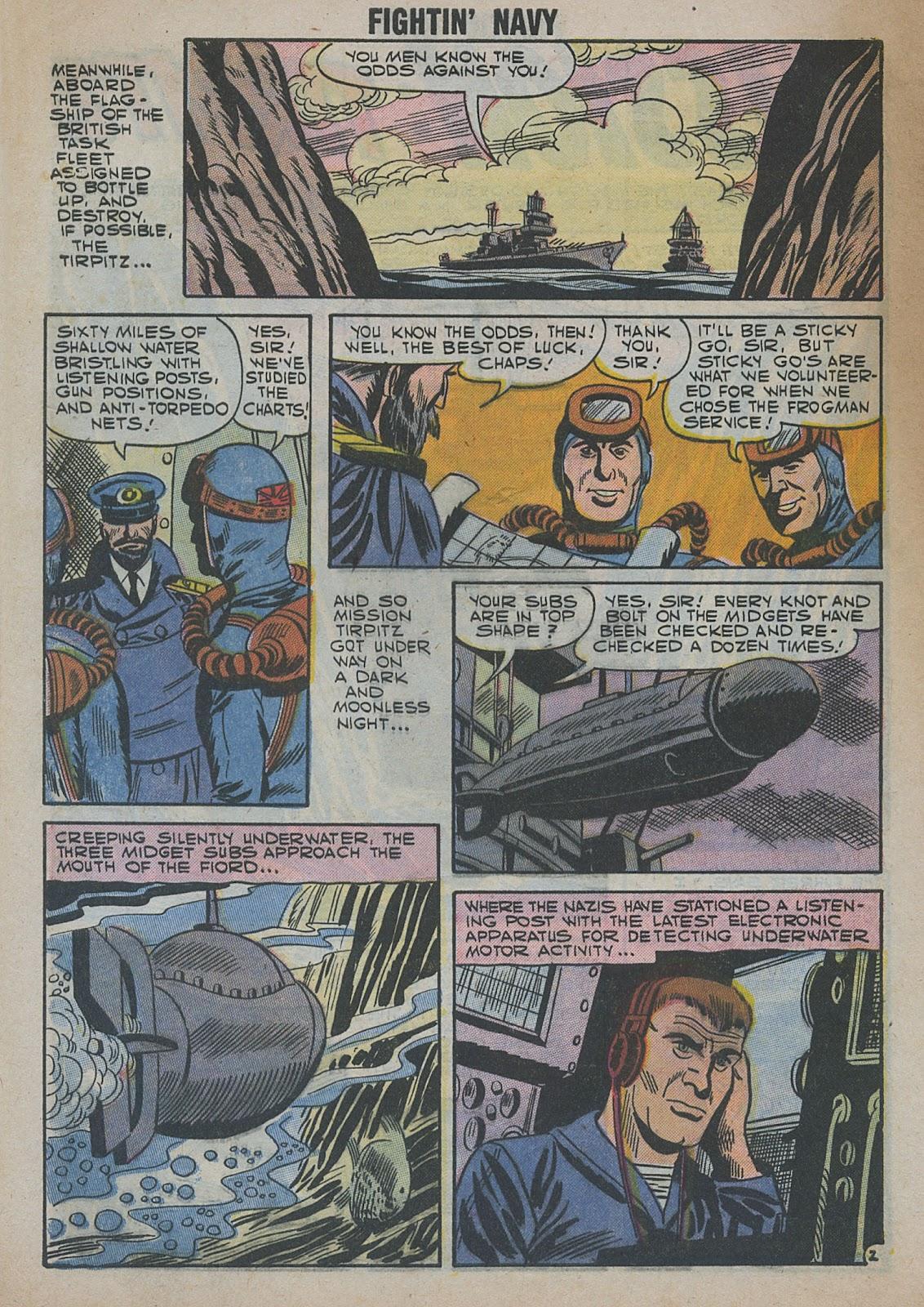 Read online Fightin' Navy comic -  Issue #82 - 60