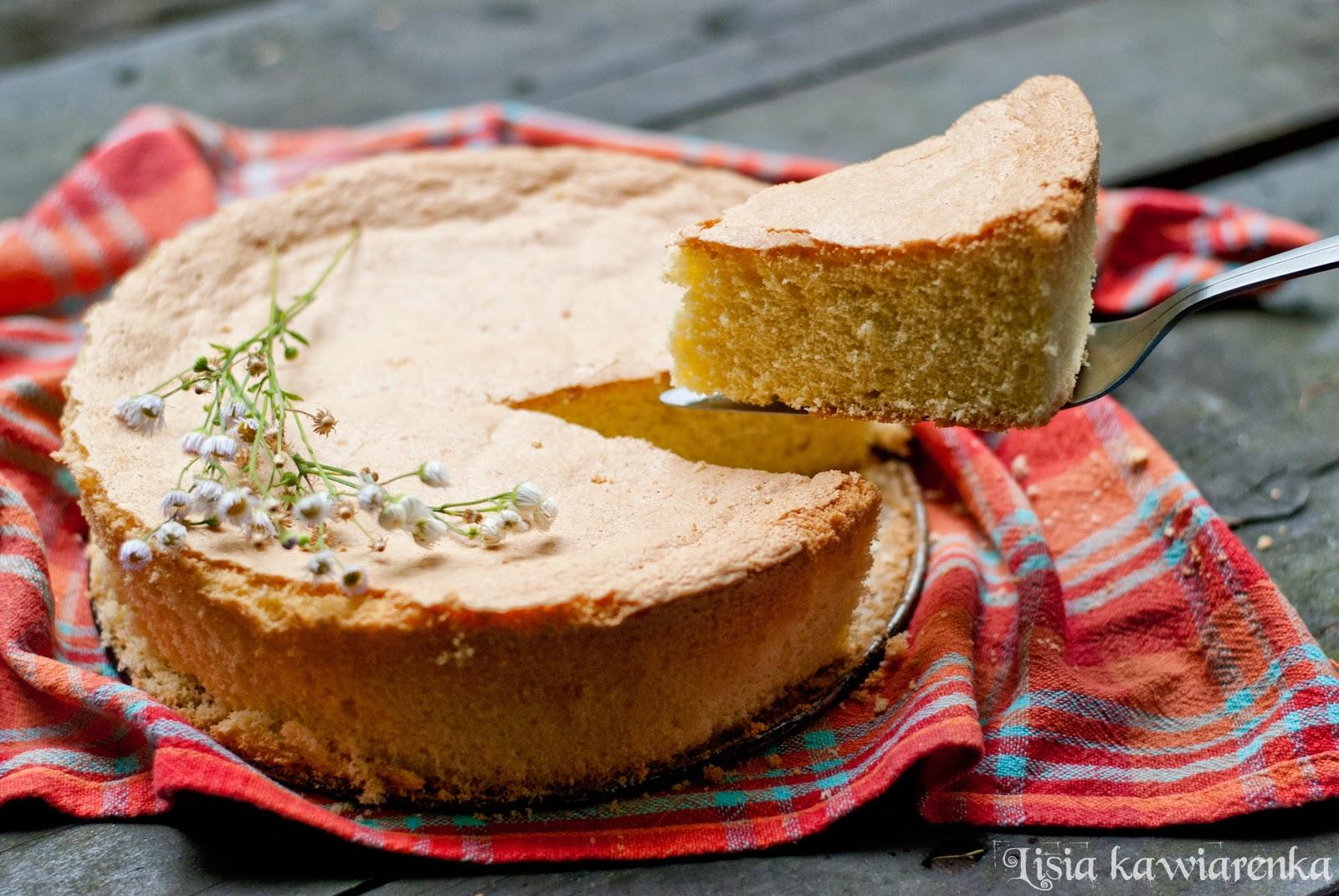 Biszkopt bezglutenowy z mąki kukurydzianej i ziemniaczanej