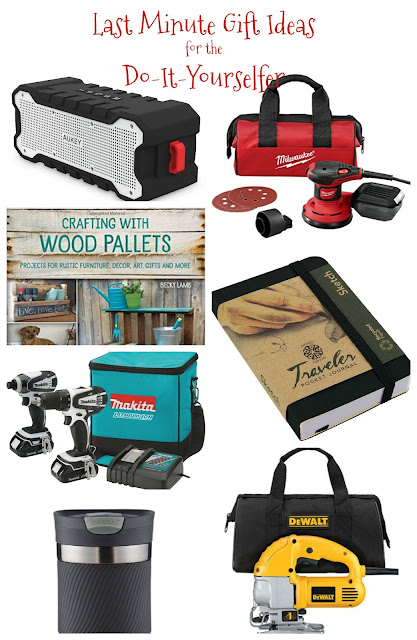 Beyond the picket fence last minute gift ideas for the do it yourselfer gift ideas do it yourself drill sander woodworking https solutioingenieria Images
