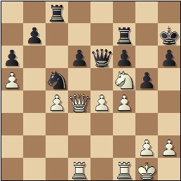 Partida de ajedrez Jaume Lladó vs. Josep Mas, posición después de 28…Rh7?