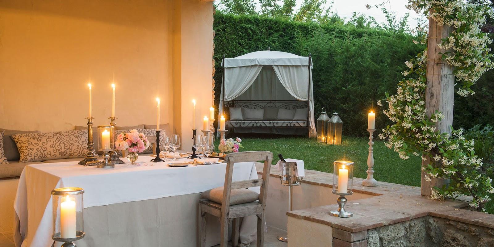 Breathtaking garden image of the Italian villa Borgo Santo Pietro - found on Hello Lovely Studio