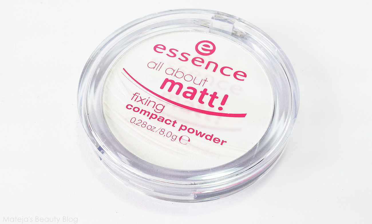 All About Matt Fixing Compact Powder