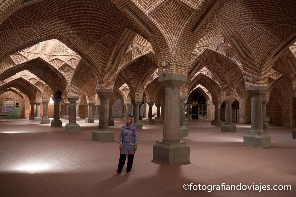 Mezquita Jameh o del viernes en Tabriz