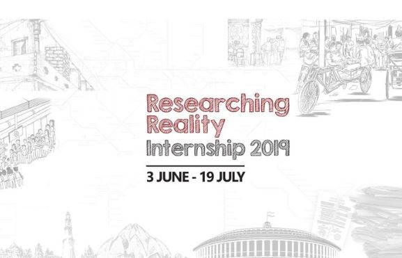 Researching Reality Internship ।।  CCS, Delhi