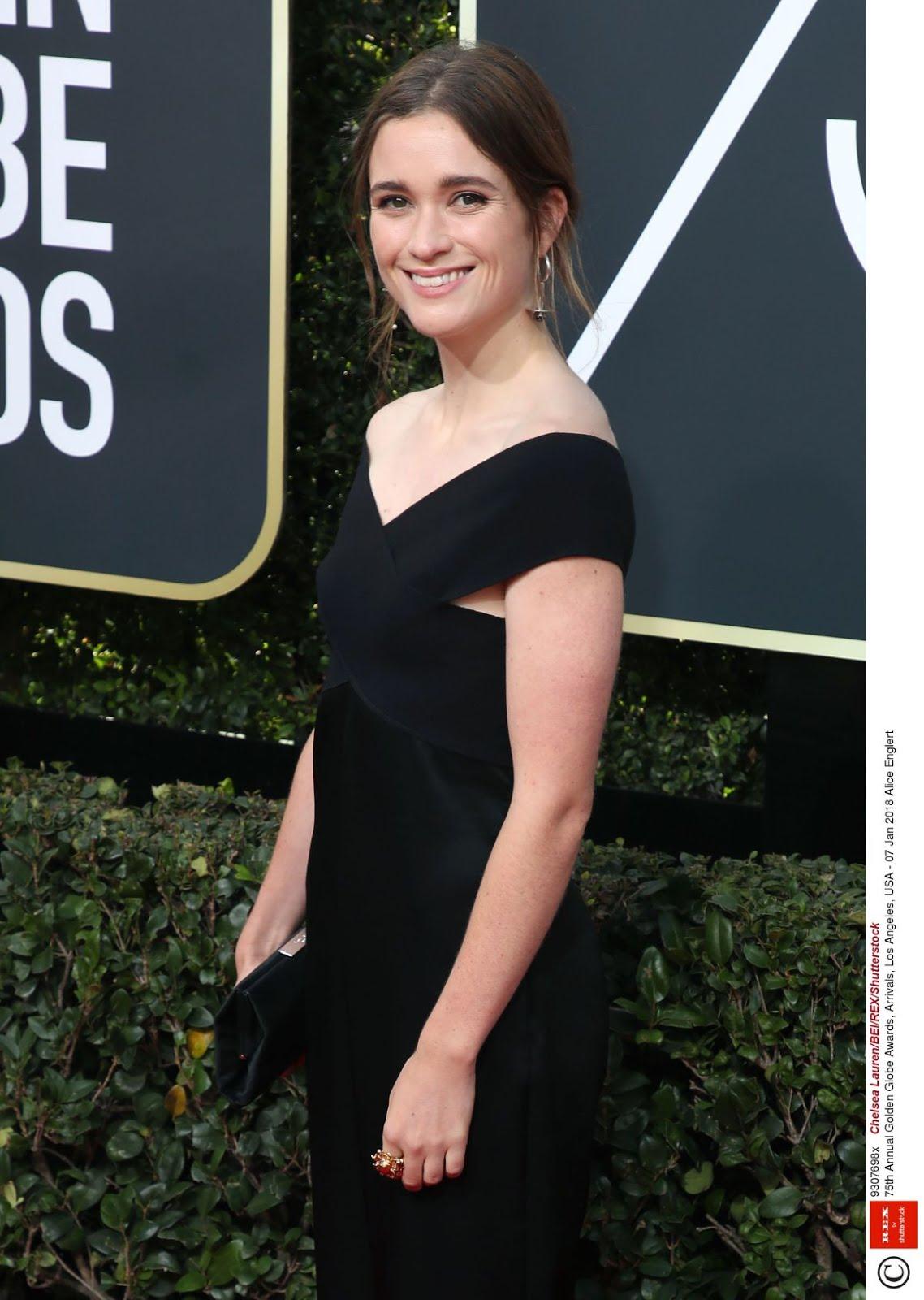Alice Englert At 75Th Annual Golden Globe Awards In Beverly Hills