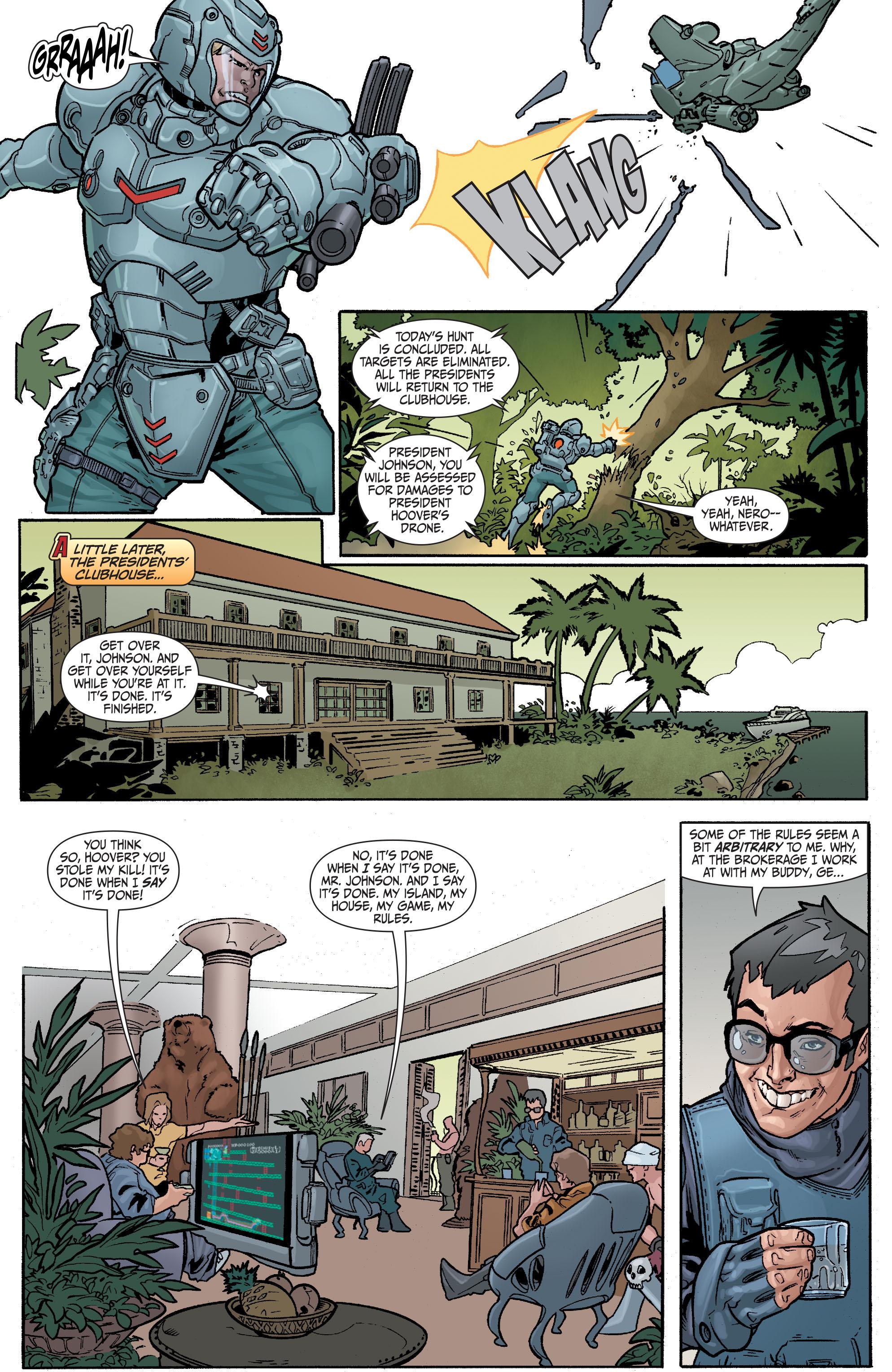 Read online Secret Six (2008) comic -  Issue #23 - 4