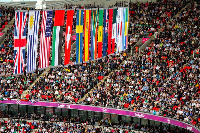 juegos olimpicos banderas paises