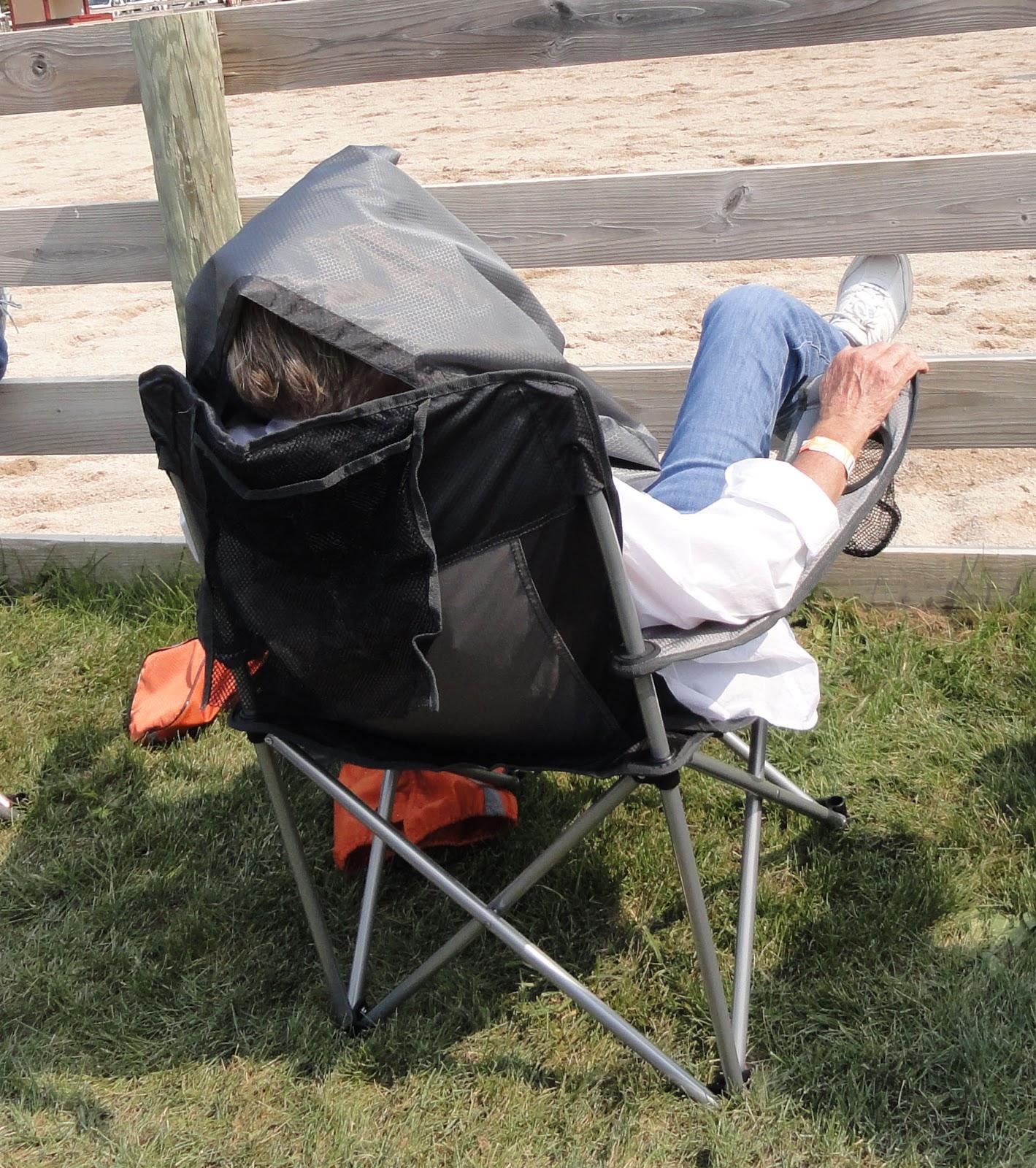 folding chair jokes egg accessories mustang dreams buck brannaman clinic in bristol wi