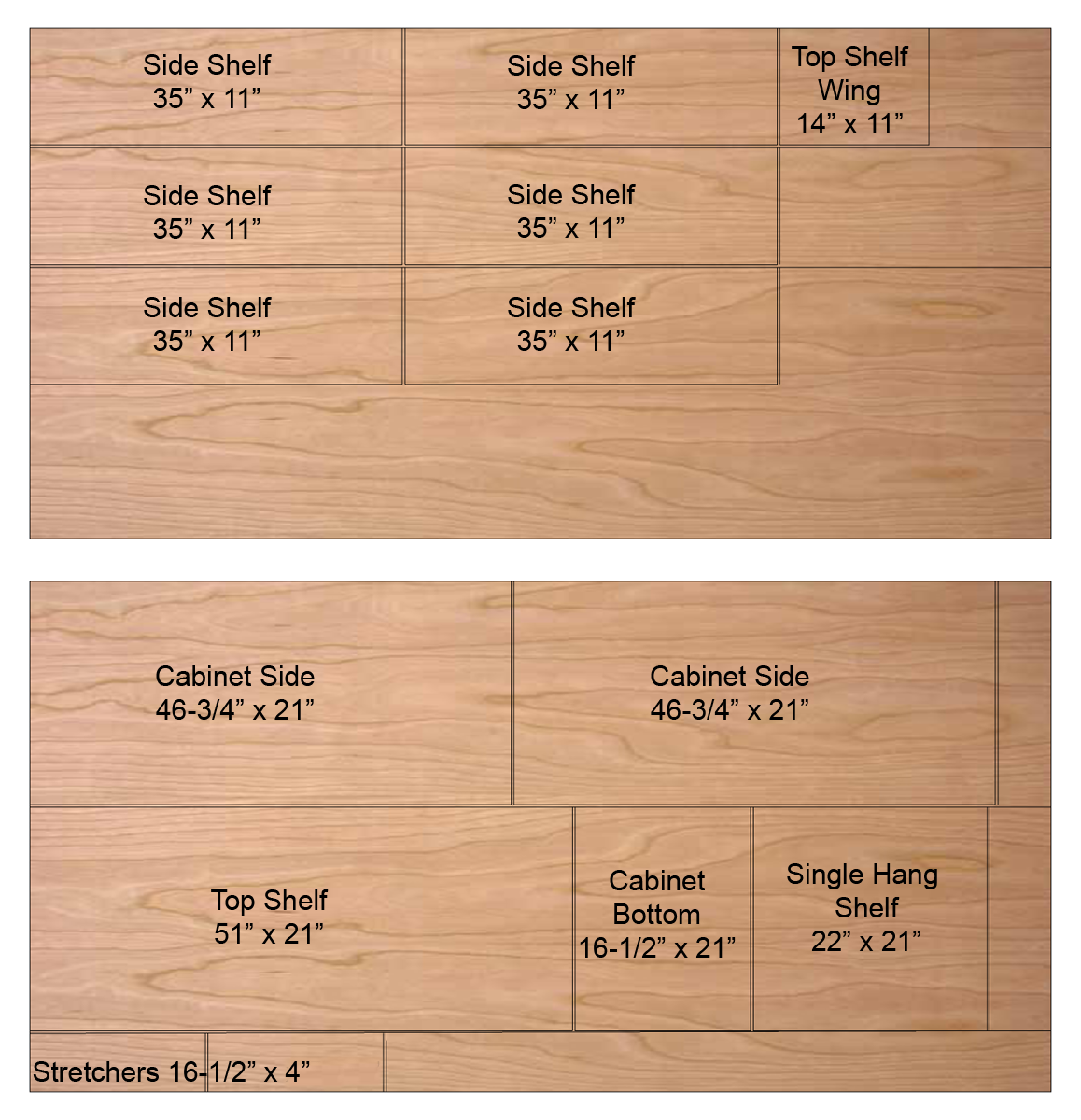 home depot maple plywood 34 with Step In Closet Organizer Plans on Wolfhudsonpaintedantiquewhite Db36 together with Jsiquincycherry B21 likewise Wolfsaginawchestnut Db24 in addition 1 34 X 1 34 Cherry Lumber 2x2 P3873 in addition Diy Entertainment Centers Ideas.