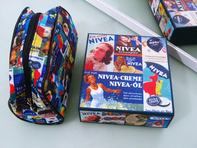 Nivea Caixa Porta-Jóias Vintage