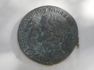 ανάγλυφη προτομή του Auguste Maximilian Myhrberg στο Ναύπλιο