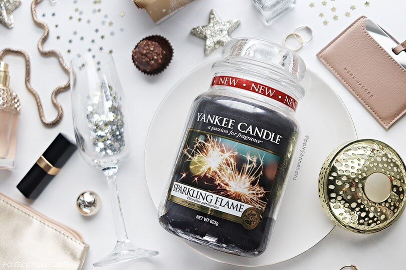 recenzja Yankee Candle Sparkling Flame