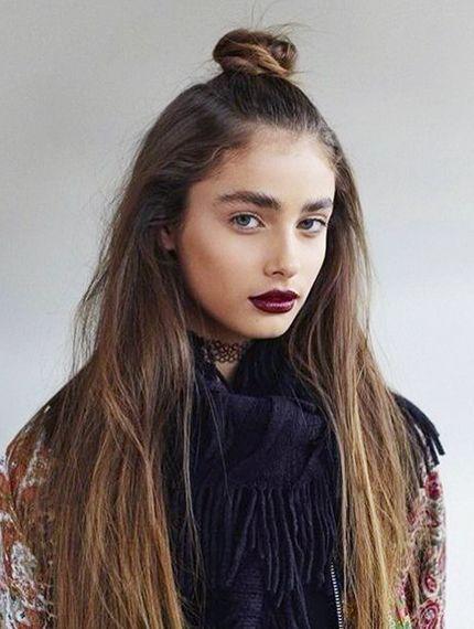 La Moda En Tu Cabello Half Up Bun El Peinado It Del 2016 - Peinado-de-moda