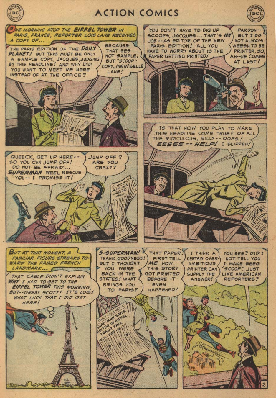 Action Comics (1938) 203 Page 3