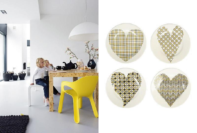 mobili, complementi e accessori casa in giallo