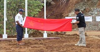 TEGANG! Bendera RRC (China) Diturunkan Paksa, Begini Detik-detik Kronologinya