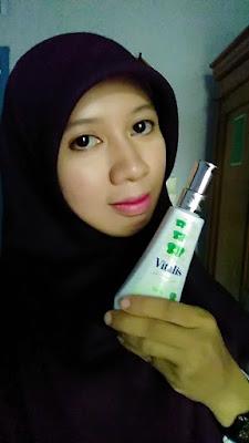 aku dan vitalis body scent belle