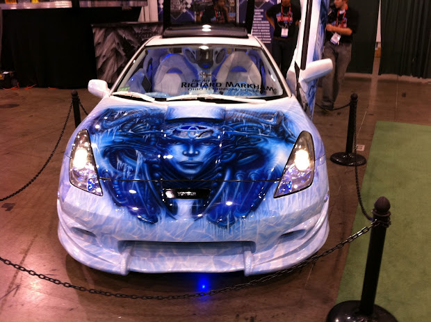 Inspired Ambitions Airbrush Art Cars