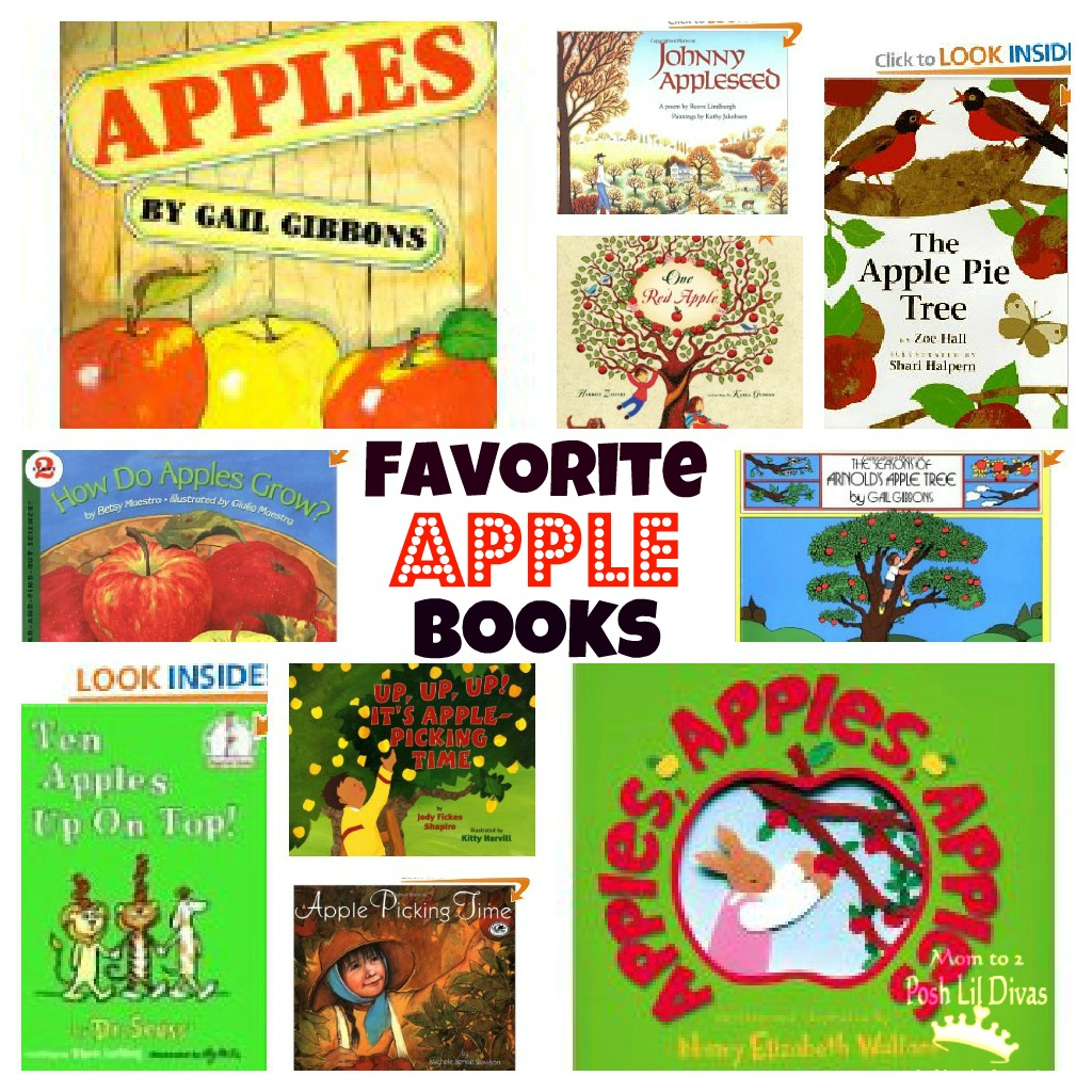 And Our Favorite Apple Themed Books List