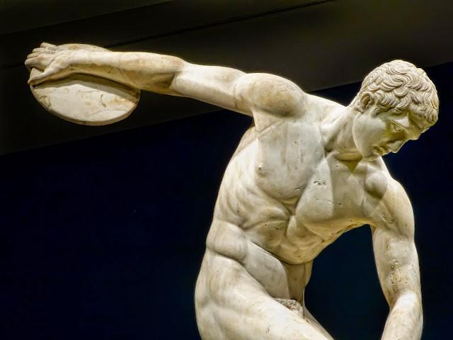 ΠΕΡΙ ΤΕΧΝΗΣ Ο ΛΟΓΟΣ: Ο αρχαίος Έλληνας γλύπτης Μύρων ο Αθηναίος ...