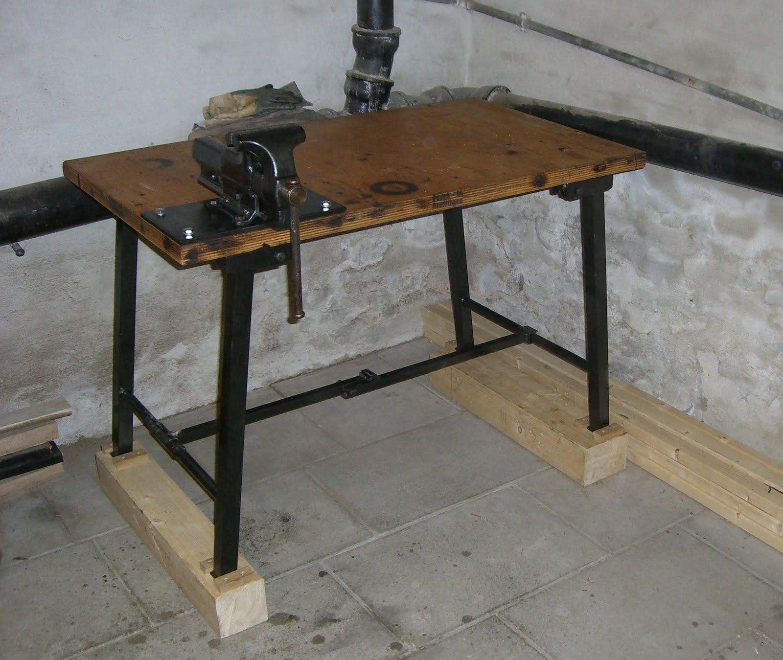 holzprojekte restaurierung einer alten werkbank. Black Bedroom Furniture Sets. Home Design Ideas