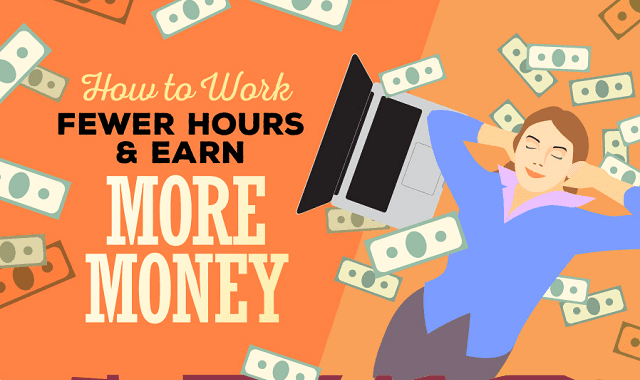 How to Work Fewer Hours and Earn More Money