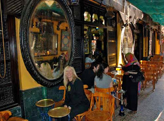 Pat Dunlap Fishawy's Coffee House Islamic Cairo Egypt