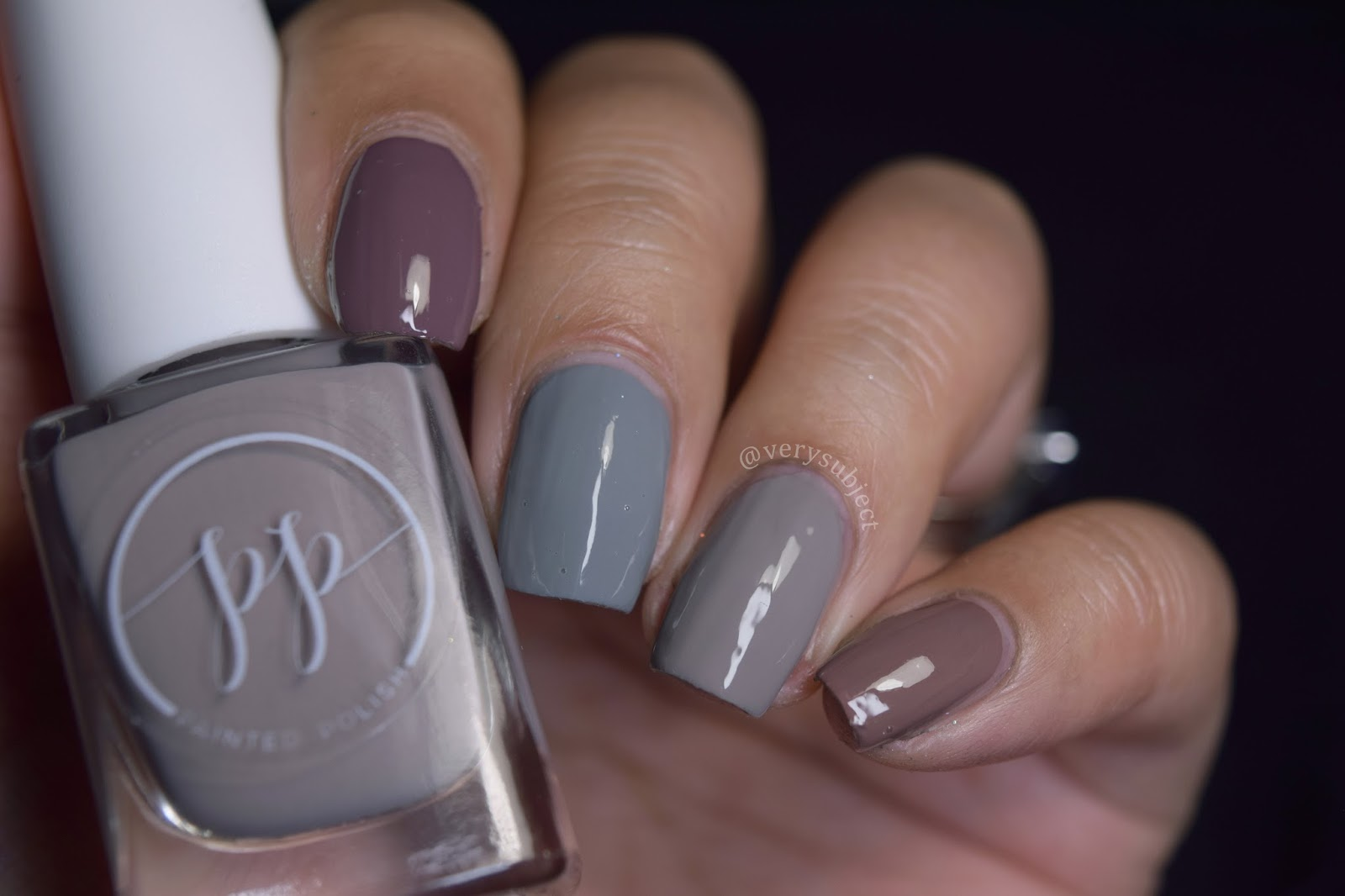 Painted Polish: Shades of Taupe - VerySubject