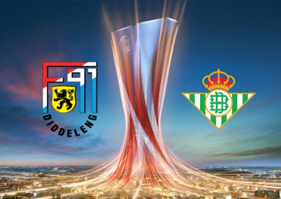 F91 Dudelange vs Real Betis - Highlights 13 Decembre 2018