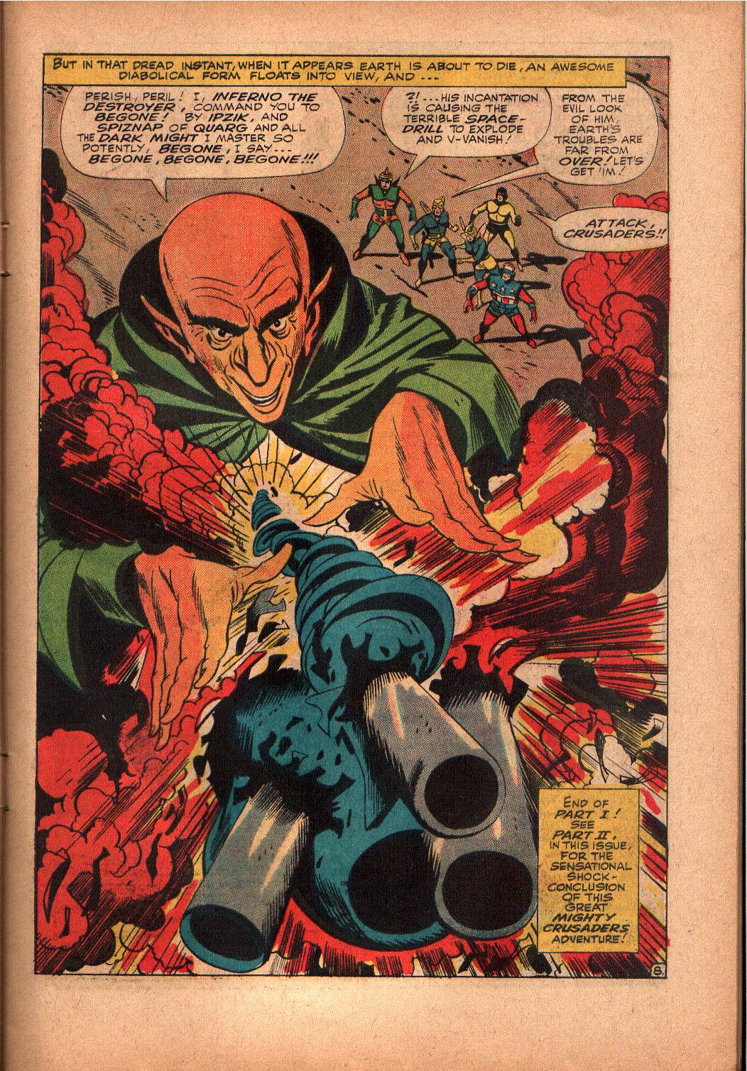The Mighty Crusaders (1965) Issue #2 #2 - English 9