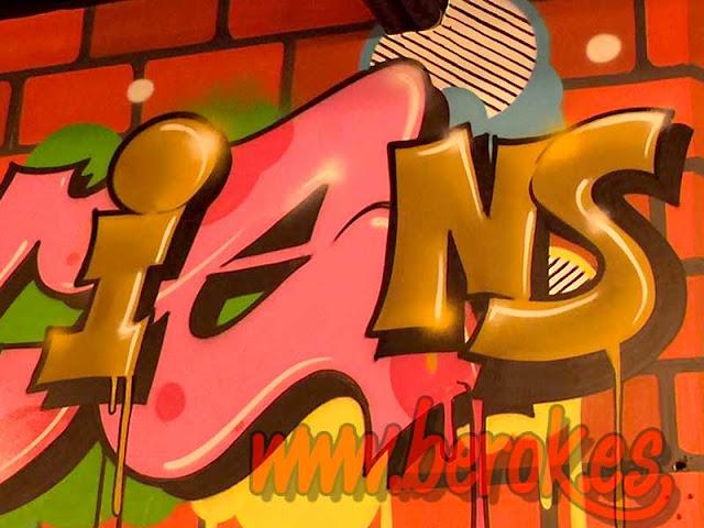Graffiti profesional Sant Cugat