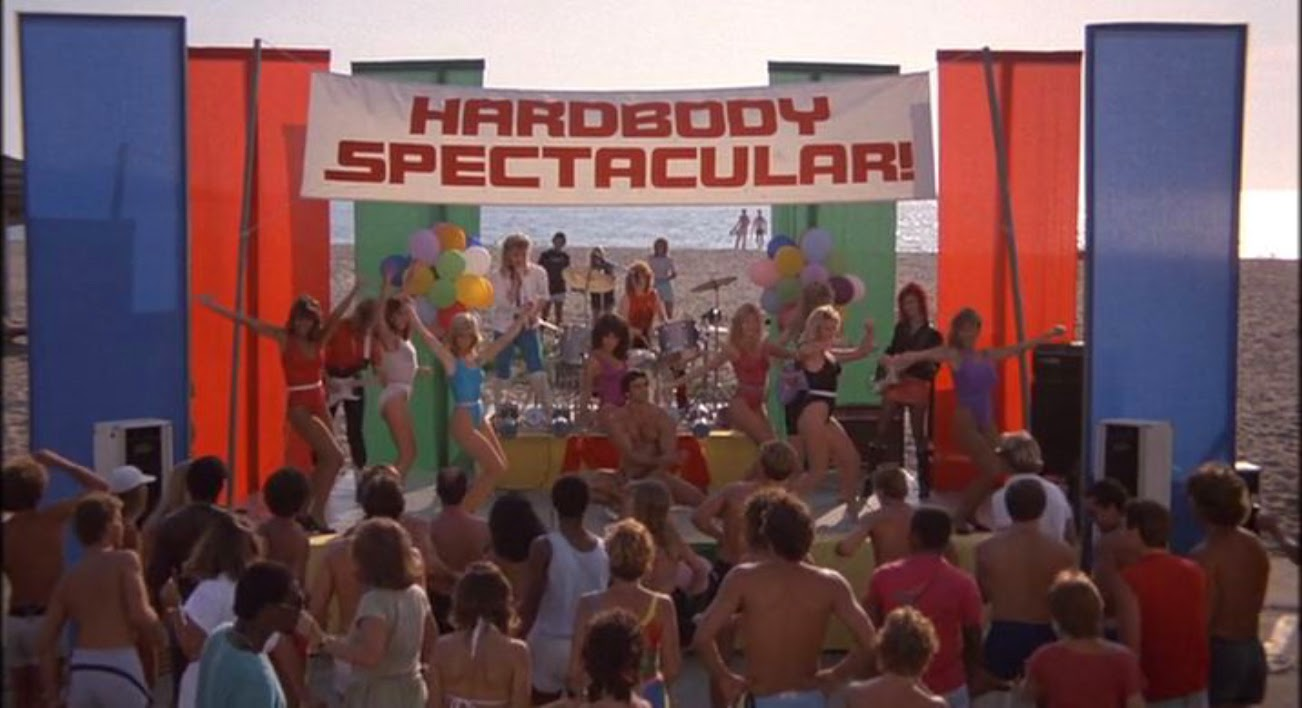 Hardbodies Spectacular movie beach party