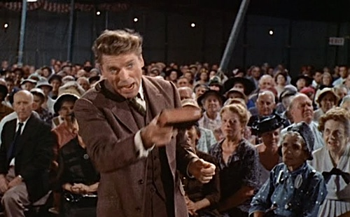 Burt Lancaster Elmer Gantry 1960 movieloversreviews.filminspector.com