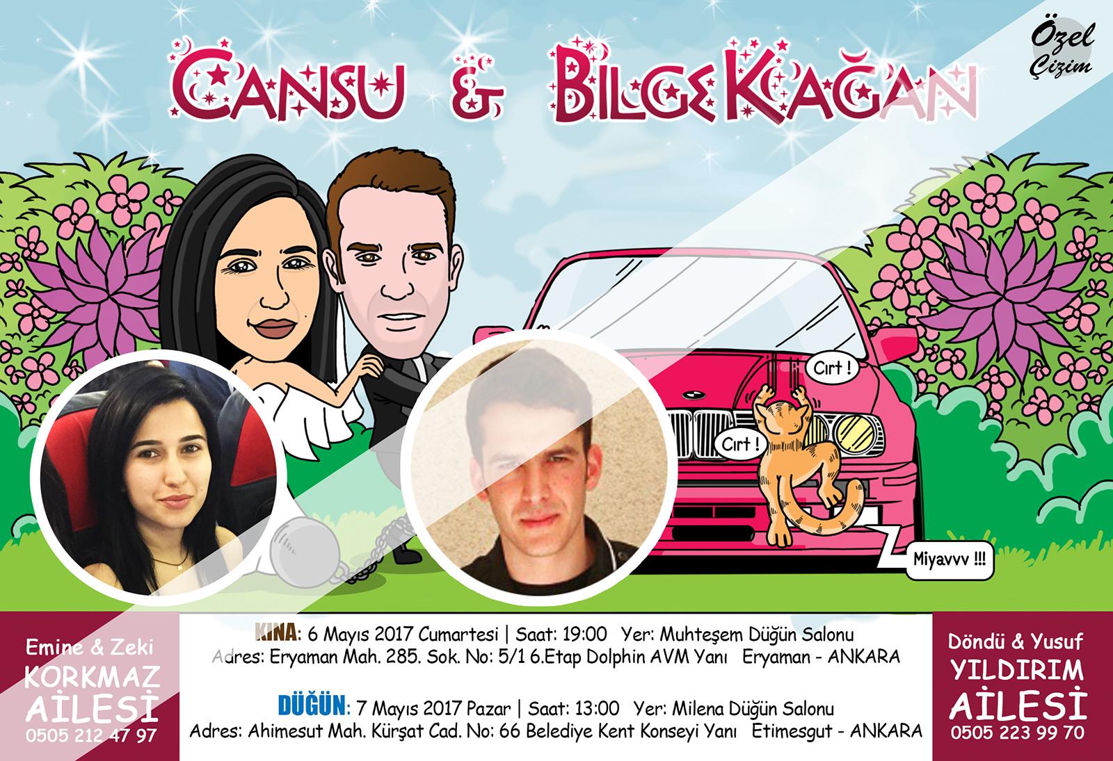 düğün davetiyesi, karikatürlü düğün davetiyesi, komik düğün davetiyesi, davetiye çizdir, düğün davetiyesi çizimi, davetiye karikatürü, davetiye örnekleri, Kişiye özel davetiye,