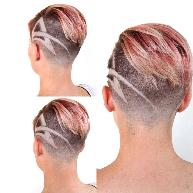 Stylish Hair Tattoos For Girls The Haircut Web