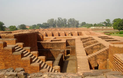 Another view of Nalanda ruins
