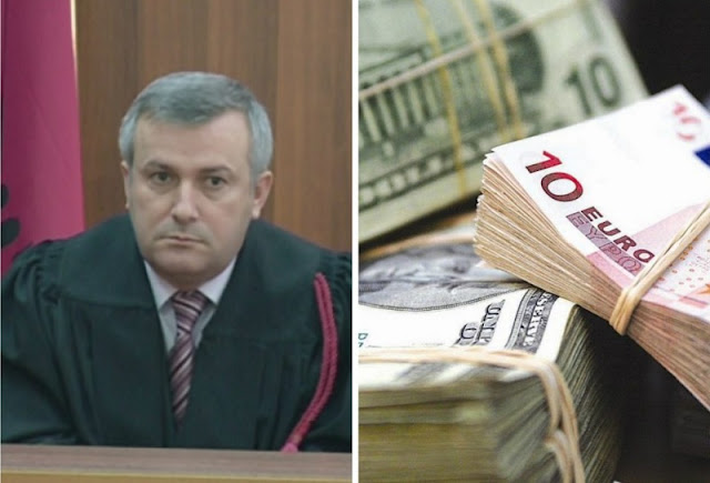 Judge of Tirana Court Shkëlqim Miri sentenced to 2.5 year in prison for corruption