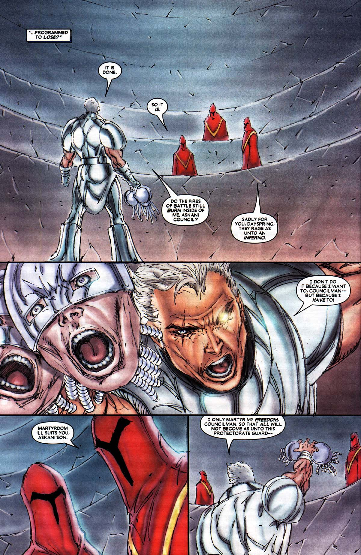 Read online X-Force (2004) comic -  Issue #2 - 16